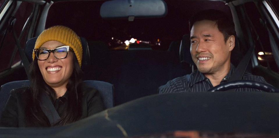"""<p>This rom-com, starring stand-up queen Ali Wong and <strong>Fresh Off the Boat</strong>'s Randall Park (as well as a <a href=""""https://www.popsugar.com/entertainment/Always-My-Maybe-Netflix-Cast-44895259"""" class=""""link rapid-noclick-resp"""" rel=""""nofollow noopener"""" target=""""_blank"""" data-ylk=""""slk:bunch of other amazing actors"""">bunch of other amazing actors</a>), follows childhood sweethearts who reconnect as adults in incredibly different socioeconomic situations, 15 years after a dramatic falling out. It's adorable without being cheesy, it's hilarious without trying too hard, and it features what might be the best Keanu Reaves cameo of all time. </p> <p><a href=""""http://www.netflix.com/title/80202874"""" class=""""link rapid-noclick-resp"""" rel=""""nofollow noopener"""" target=""""_blank"""" data-ylk=""""slk:Watch Always Be My Maybe on Netflix"""">Watch <strong>Always Be My Maybe</strong> on Netflix</a>.<br></p>"""