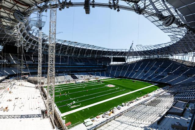 No moving in date: Spurs' stadium has suffered big delays