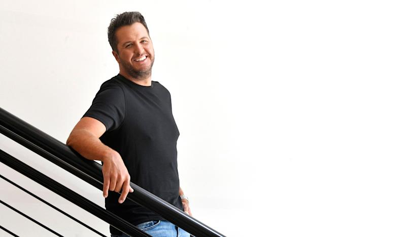 "Luke Bryan has a new album, ""Born Here Live Here Die Here"" coming out. Photographed in Nashville, Tenn. Monday, Aug. 3, 2020"