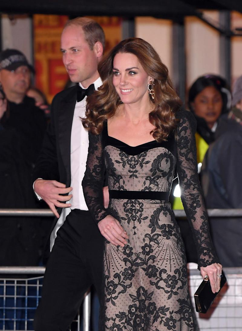 The Duke and Duchess' appearance was their third at the event in the past five years. Photo: Getty