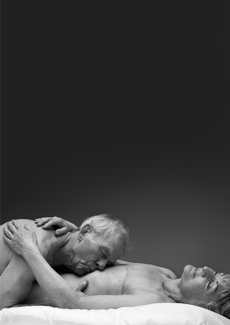 The campaign features various stories of intimacy between people in their senior years. (Rankin/Relate)