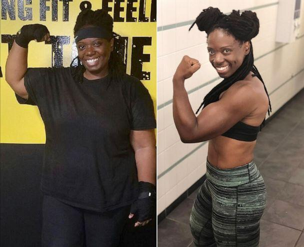 PHOTO: Marsha Parker, 41, of New York City, lost 155 pounds. (Courtesy Marsha Parker)