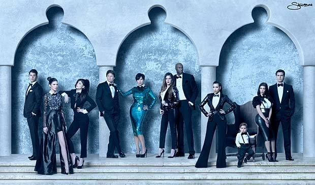 In 2011, the Kardashians once again went all out for their Christmas card, which was available in both 2D and 3D formats.