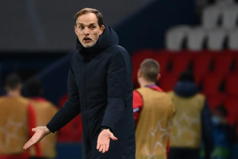 PSG coach Thomas Tuchel has been letting the tension get the better of him