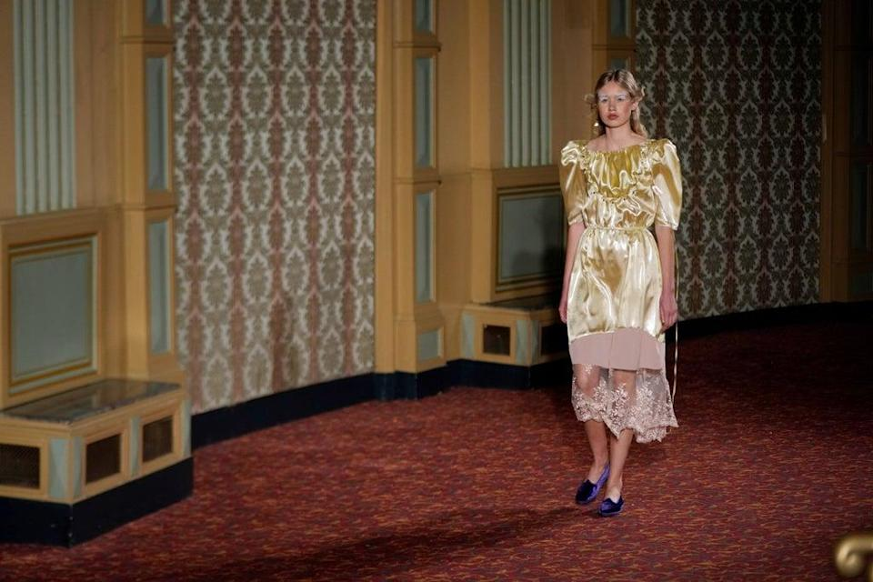 Italy Fashion Francesca Liberatore (Copyright 2021 The Associated Press. All rights reserved)