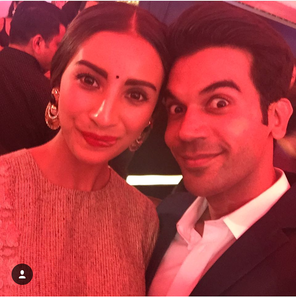 <p>We picked this super adorbs pic from the actor's Instagram, which was reposted from Patralekha's gram account with the cutest caption everrrr – #Bae. With her tongue out, we guess, for once the lady was trying to go the goofy way while Rajkummar resorts to a gentlemen kinda smile. </p>