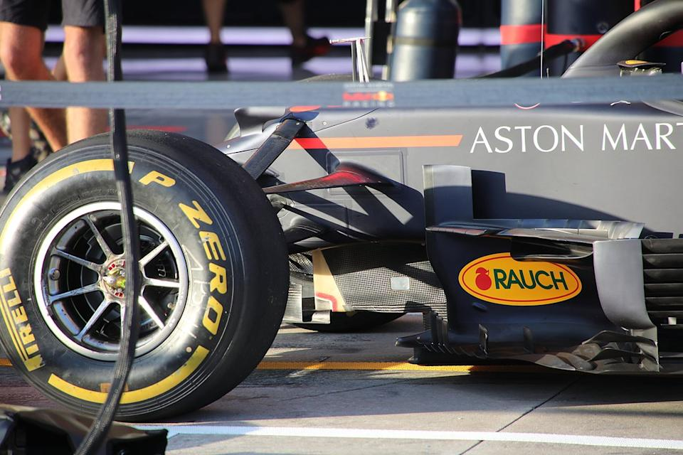 """Lateral del Red Bull Racing RB16<span class=""""copyright"""">Giorgio Piola</span>"""