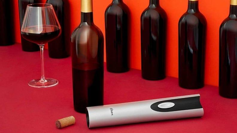 The Oster cordless wine opener helped us open our wine quickly and efficiently.