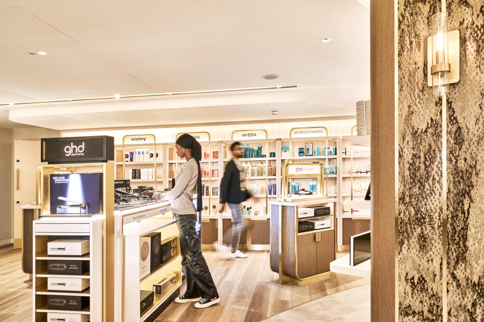Some 43 beauty brands are on offer at Harrods' new Hair and Beauty Salon. - Credit: Image Courtesy of Harrods/Julian Broad
