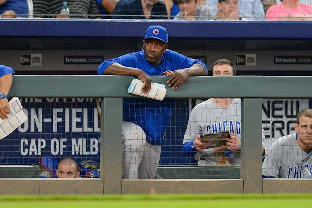 "The <a class=""link rapid-noclick-resp"" href=""/mlb/teams/chc"" data-ylk=""slk:Cubs"">Cubs</a> have fired Chili Davis after the team struggled in the second half. (Getty Images)"
