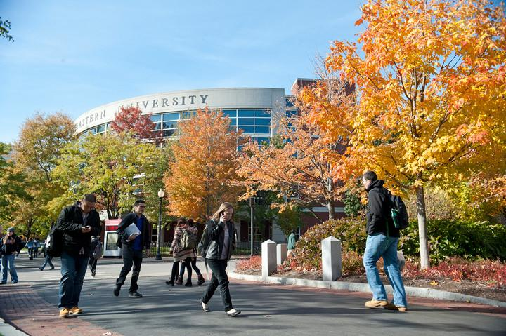 Campus in Fall 2011