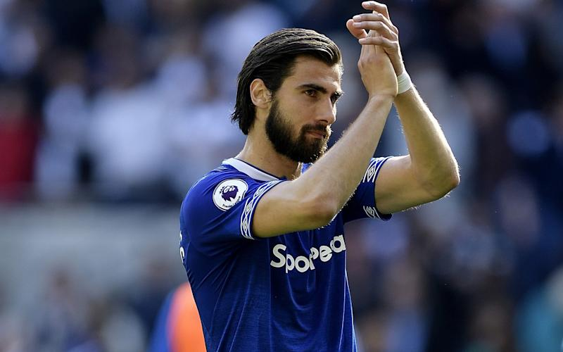 Andre Gomes has now indicated he wants to stay on Merseyside - Everton FC