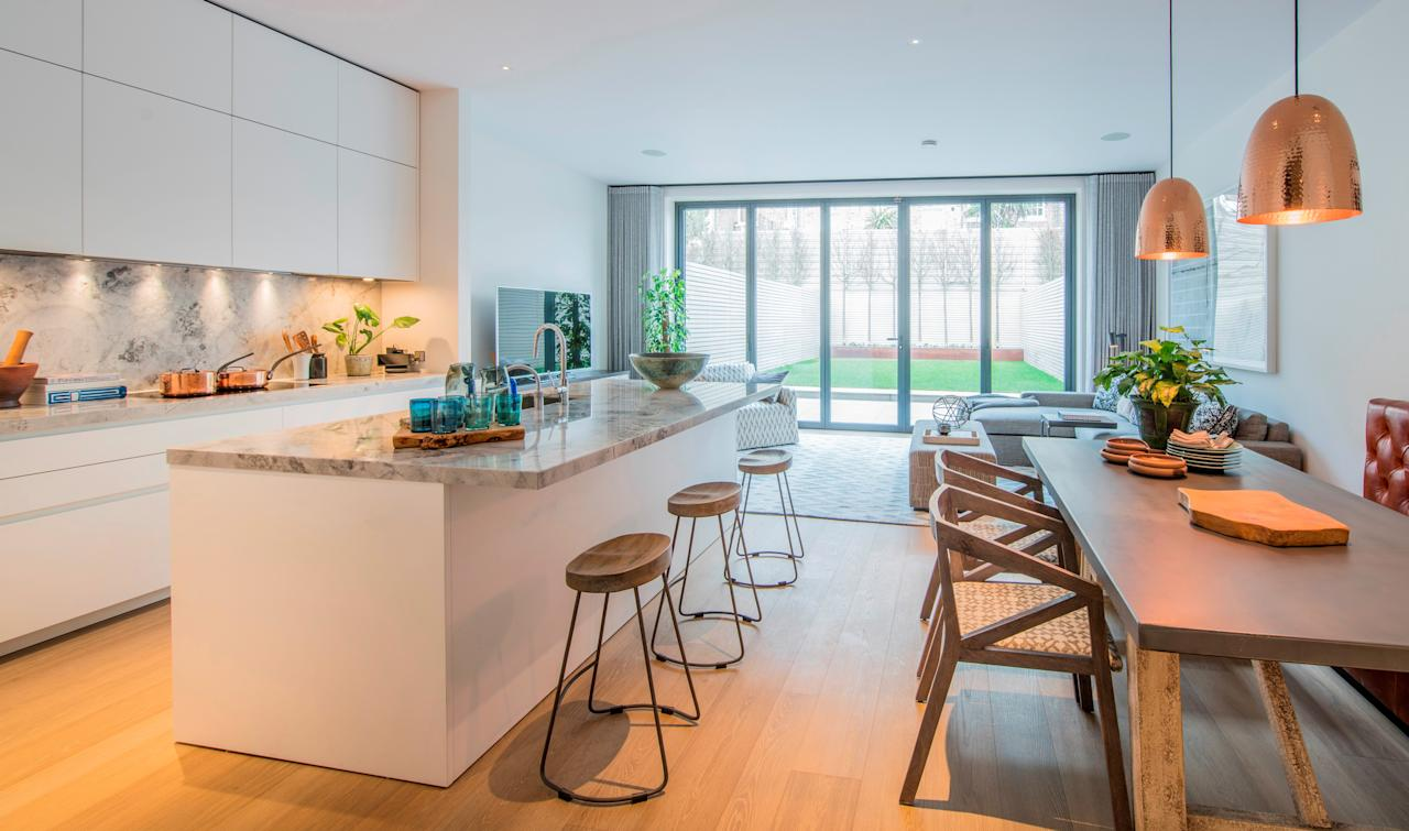 <p>It has been dubbed the 'One Hyde Park' of new homes after the luxury Knightsbridge apartment block and estate agents Aston Chase, Knight Frank and Savills have already sold five of the houses off-market for a combined £65 million. </p>