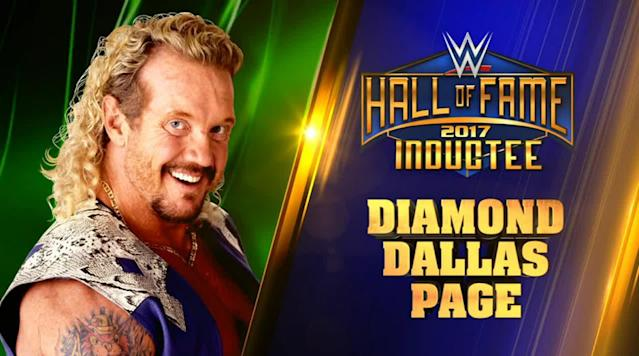 Few paths to the WWE Hall of Fame have been as unconventional as that of Diamond Dallas Page, who will be as part of the Class of 2017.