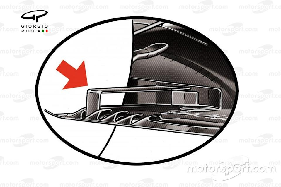 """The floor's trailing edge was curtailed by F1's 2021 regulations.<span class=""""copyright"""">Motorsport.com</span>"""