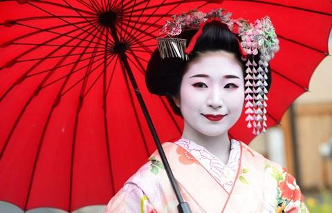 Maiko Kyoto gesiha - Credit: Getty