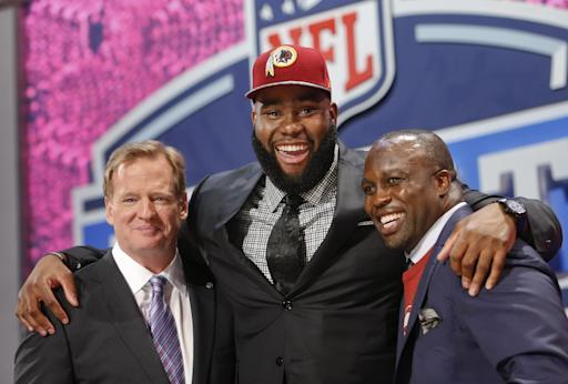 Redskins select T Moses of Virginia in 3rd round