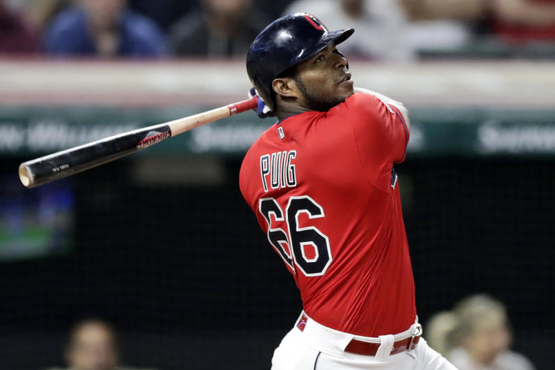 Free agent OF Yasiel Puig, Braves reach 1-yr deal