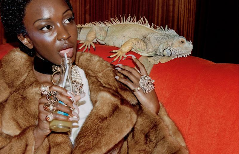Gucci's Latest Campaign Exclusively Features Models of Color