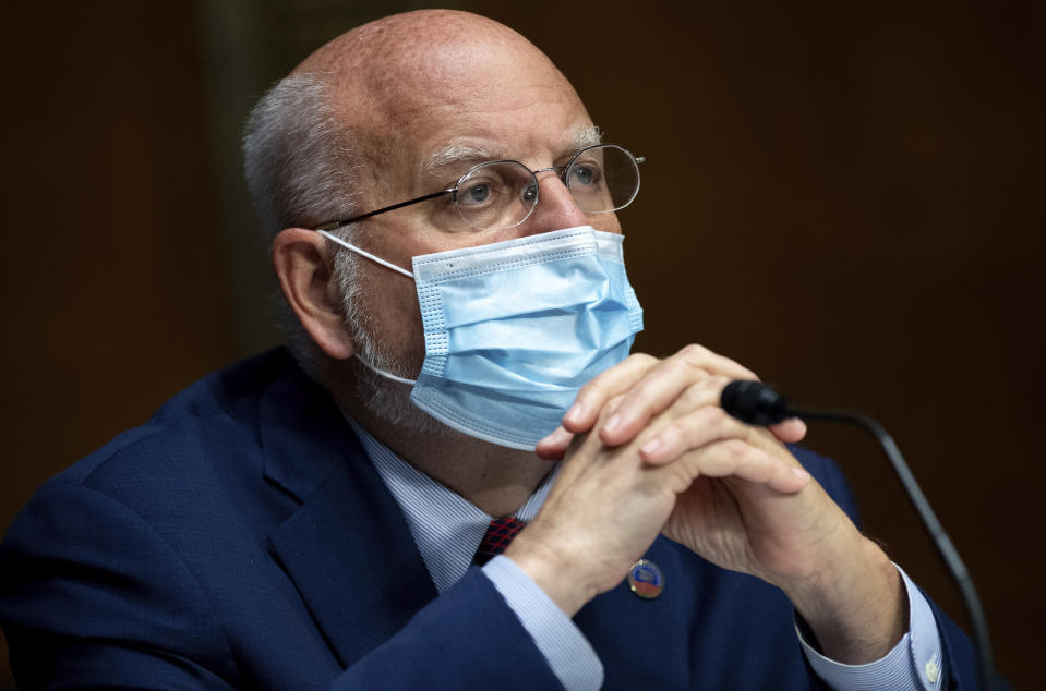 Dr. Robert Redfield, director of the Centers for Disease Control and Prevention. (Saul Loeb/Pool via AP)