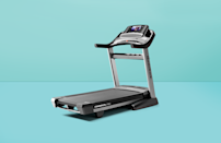 """<p> A treadmill is a fantastic way to stay active indoors, but there's no denying that this hefty piece of fitness equipment takes up a lot of space. So while a feature-rich treadmill like <a href=""""https://www.goodhousekeeping.com/health-products/a35265950/best-fitness-awards-2021/"""" rel=""""nofollow noopener"""" target=""""_blank"""" data-ylk=""""slk:Good Housekeeping's 2021 Fitness Award"""" class=""""link rapid-noclick-resp"""">Good Housekeeping's 2021 Fitness Award</a> winner NordicTrack Commercial X22i is desirable for many reasons, a full-size machine isn't necessarily suitable for every home. A foldable treadmill, on the other hand, is a <strong>great solution when space is tight and every square foot counts</strong>. Not only are the best folding treadmills compact and portable, but they afford an excellent workout and are relatively easy to fold up and prop up against the wall until you're ready to use them again.</p><h2 class=""""body-h2"""">How we test treadmills</h2><p>The <a href=""""https://www.goodhousekeeping.com/institute/about-the-institute/a19748212/good-housekeeping-institute-product-reviews/"""" rel=""""nofollow noopener"""" target=""""_blank"""" data-ylk=""""slk:Good Housekeeping Institute"""" class=""""link rapid-noclick-resp"""">Good Housekeeping Institute</a> tests a variety of fitness equipment ranging from <a href=""""https://www.goodhousekeeping.com/health-products/g35852402/best-exercise-bikes/"""" rel=""""nofollow noopener"""" target=""""_blank"""" data-ylk=""""slk:exercise bikes"""" class=""""link rapid-noclick-resp"""">exercise bikes</a> to <a href=""""https://www.goodhousekeeping.com/health-products/g32434355/best-kettlebells/"""" rel=""""nofollow noopener"""" target=""""_blank"""" data-ylk=""""slk:kettlebells"""" class=""""link rapid-noclick-resp"""">kettlebells</a> and <a href=""""https://www.goodhousekeeping.com/health-products/g32433651/best-dumbbells/"""" rel=""""nofollow noopener"""" target=""""_blank"""" data-ylk=""""slk:dumbbells"""" class=""""link rapid-noclick-resp"""">dumbbells</a> to help you improve your <a href=""""https://www.goodhousekeeping.com/health/fitness/a3147870"""