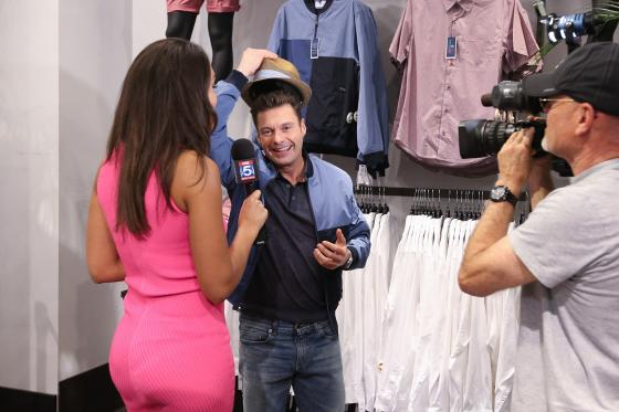 Ryan Seacrest attends the launch party for Ryan Seacrest Distinction Rio at Macy's Herald Square on June 6, 2016 in New York City.