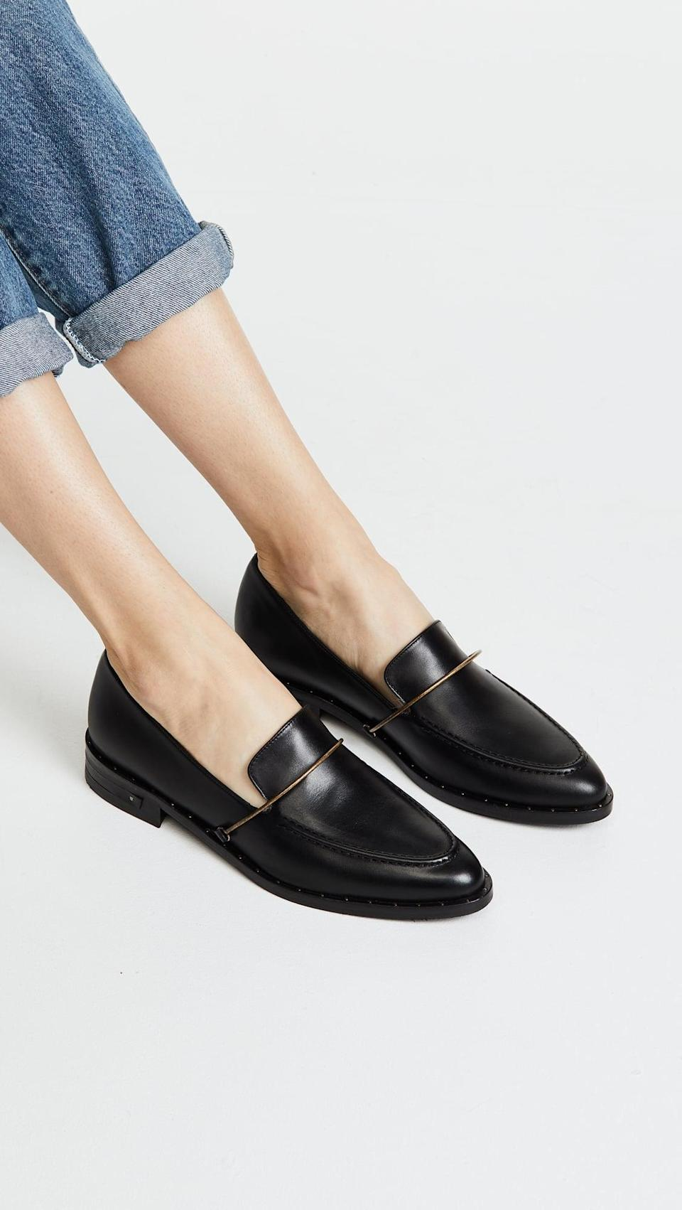 <p>These <span>Freda Salvador The Light Loafers</span> ($395) look effortlessly chic, and we can't get enough of the silhouette. Wear them with rolled up jeans to make them stand out.</p>