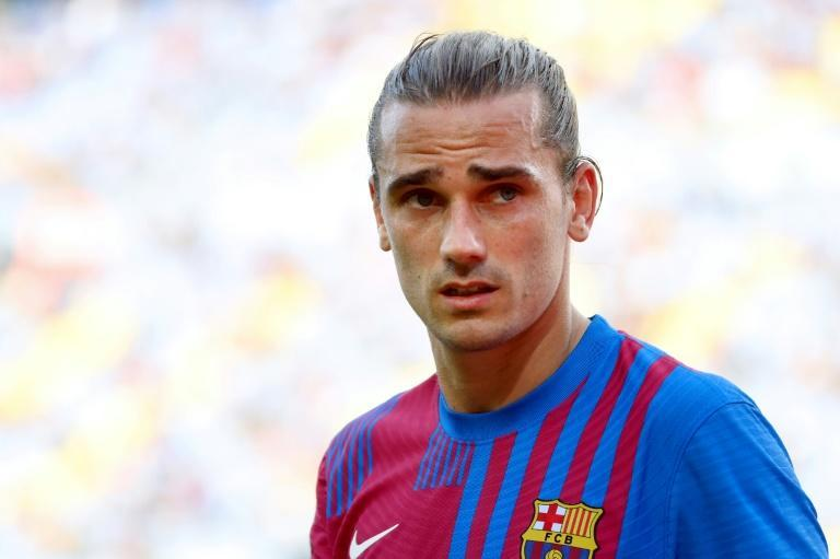 Griezmann has rejoined Atletico on a one-year loan deal with an option to extend by another year (AFP/LLUIS GENE)