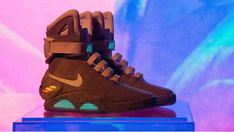 Nike raises  6.75 million for Parkinson s research with  Back To The  Future  shoe raffle a426447cf6fb