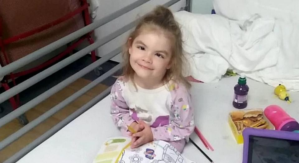 Lola was first diagnosed with epilepsy when she was four months old (SWNS)