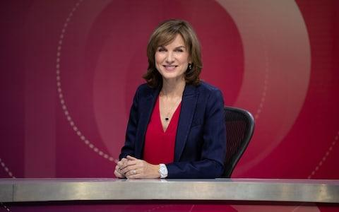 Fiona Bruce hosts a Question Time special for the election's aftermath - Credit: Richard Lewisohn/BBC