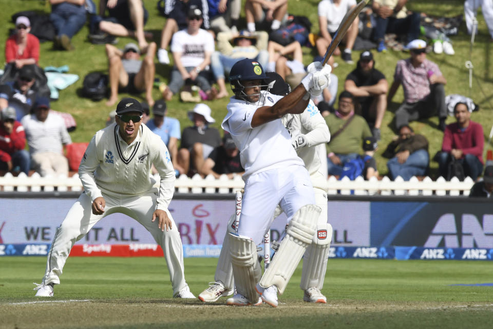 <p><strong>18 - </strong>The young opening batsman from Team India has hit 18 sixes in 20 innings. His highest score in the series is 857 runs, with a run rate of 42.85 and a strike rate of 55.07.</p>