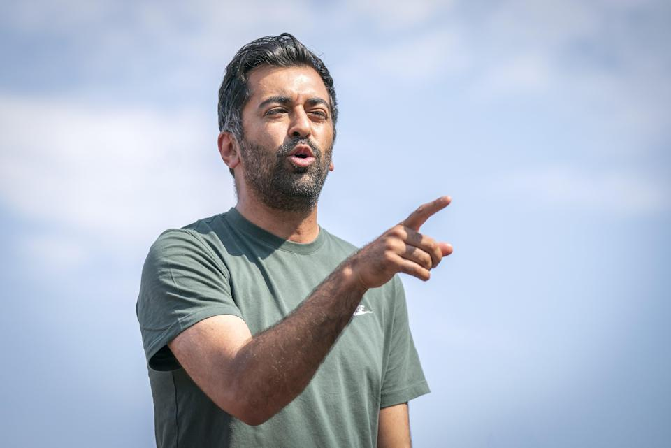 Health Secretary Humza Yousaf said he and his wife had contacted the Care Inspectorate and were seeking legal advice. (Jane Barlow/PA)