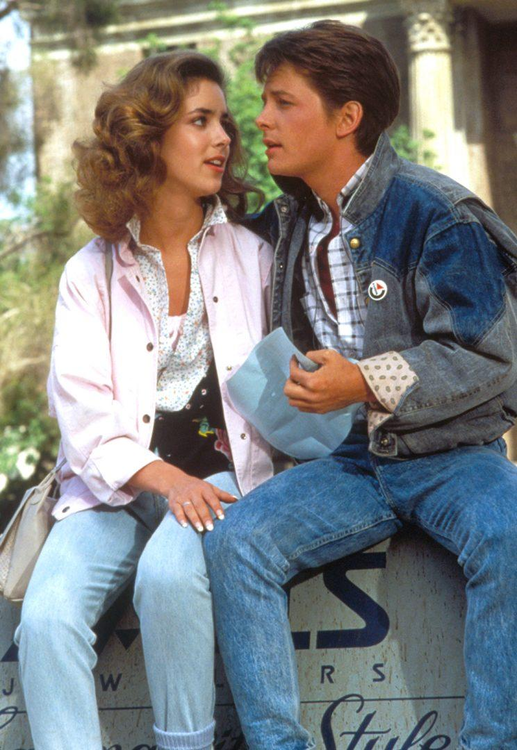 Claudia Wells and Michael J. Fox in 'Back to the Future.' (Photo: Everett Collection)<br /> <object id=