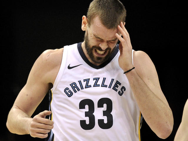 Marc Gasol needs a break. (AP)