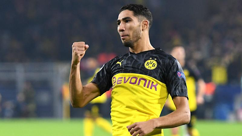 'Everybody needs the same justice' - Inter-bound Hakimi on supporting Black Lives Matter in Dortmund celebration