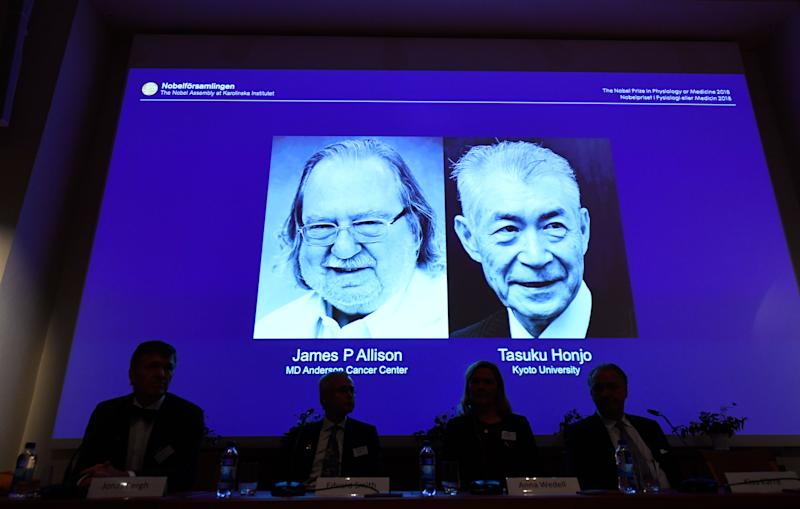 Nobel medicine prize awarded for cancer immunotherapy research