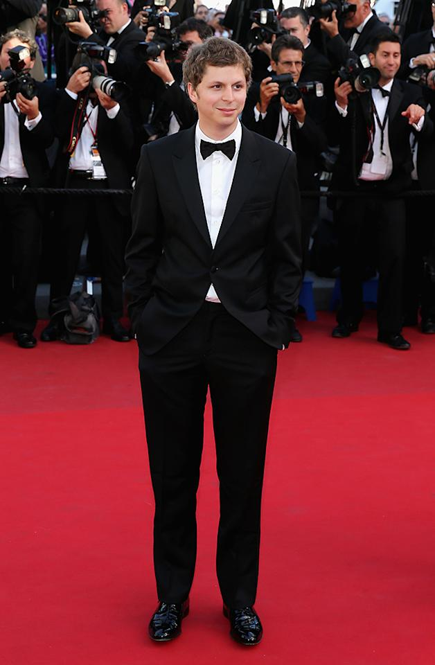 "CANNES, FRANCE - MAY 24:  Michael Cera attends ""The Immigrant"" Premiere during the 66th Annual Cannes Film Festival at Grand Theatre Lumiere on May 24, 2013 in Cannes, France.  (Photo by Neilson Barnard/Getty Images)"