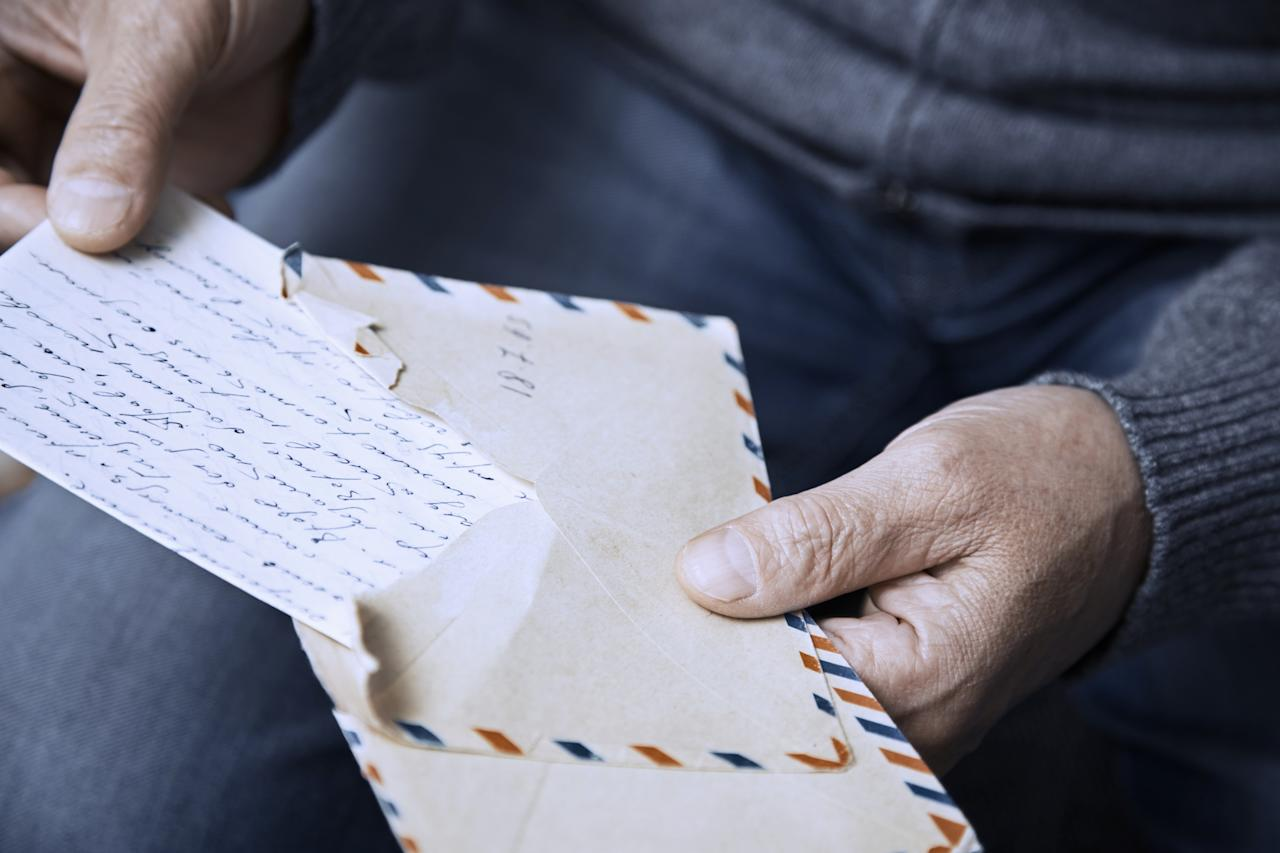 <p>Forget email or text – people miss getting a good old-fashioned handwritten letter. [Picture: Getty] </p>