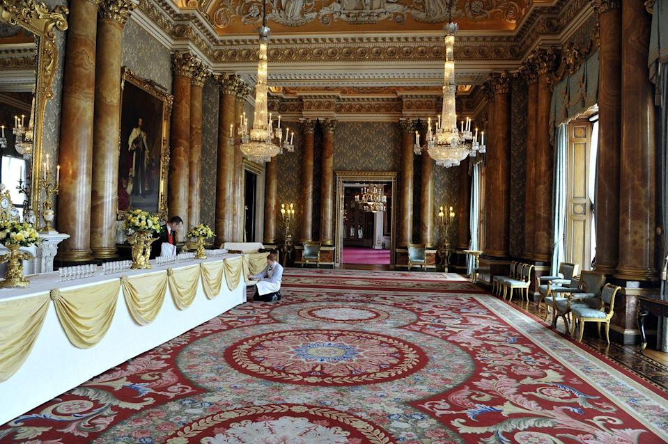"""<p>Maybe this is self-explanatory, but wandering off during a visit to Buckingham Palace <a href=""""https://www.youtube.com/watch?v=CBXpNP7fZtk&feature=youtu.be"""" rel=""""nofollow noopener"""" target=""""_blank"""" data-ylk=""""slk:is a big no-no"""" class=""""link rapid-noclick-resp"""">is a big no-no</a>. Although tempting, it will likely result in a scolding. </p>"""
