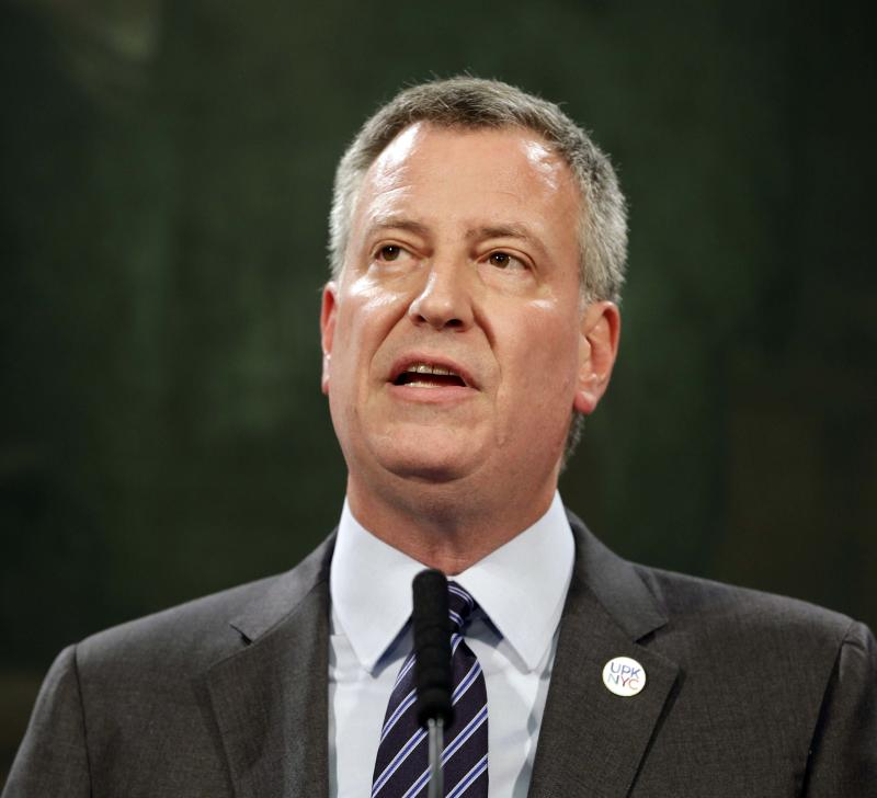 NYC mayor unveils $41B affordable housing plan