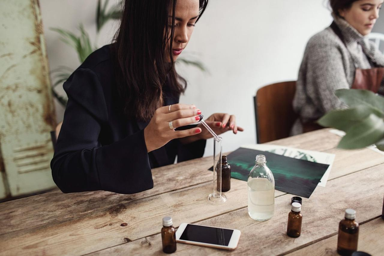 """<p>If your friend can't get enough of aromatherapy, gift her with a perfume-making class. She can create her own signature fragrance, which really makes it a two-in-one gift. $59.</p><p><a class=""""body-btn-link"""" href=""""https://go.redirectingat.com?id=74968X1596630&url=https%3A%2F%2Fwww.groupon.com%2Fdeals%2Faroma-workshop-1&sref=http%3A%2F%2Fwww.goodhousekeeping.com%2Fholidays%2Fgift-ideas%2Fg4733%2Fgift-experiences%2F"""" target=""""_blank"""">LEARN MORE</a> </p>"""