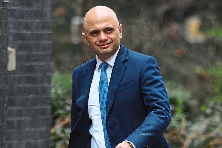 Home Secretary Sajid Javid: announced EU citizens will sign up for their settled status in the UK via a smartphone app: PA