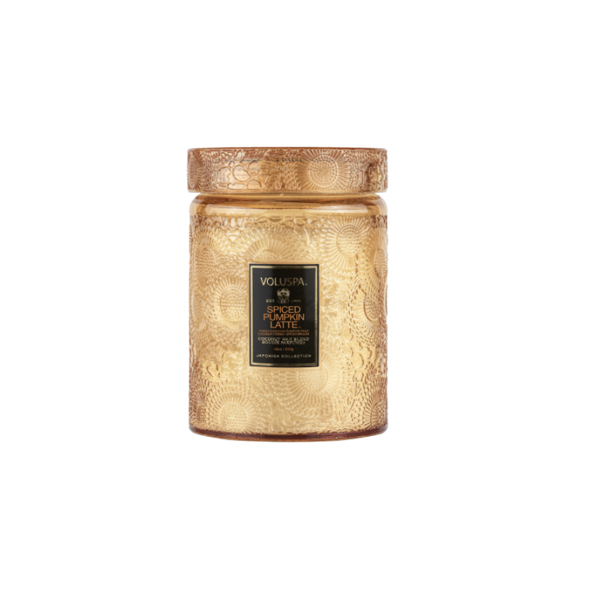 """<p><strong>Voluspa</strong></p><p>nordstrom.com</p><p><strong>$32.00</strong></p><p><a href=""""https://go.redirectingat.com?id=74968X1596630&url=https%3A%2F%2Fwww.nordstrom.com%2Fs%2Fvoluspa-spiced-pumpkin-latte-large-jar-candle%2F5727606&sref=https%3A%2F%2Fwww.cosmopolitan.com%2Fstyle-beauty%2Ffashion%2Fg37233214%2Fgift-ideas-for-thanksgiving%2F"""" rel=""""nofollow noopener"""" target=""""_blank"""" data-ylk=""""slk:Shop Now"""" class=""""link rapid-noclick-resp"""">Shop Now</a></p><p>The ultimate way to celebrate a fall holiday is with pumpkins. (I don't make the rules, k?) And this Voluspa Spiced Pumpkin Latte Candle is *chef's kiss.*</p>"""