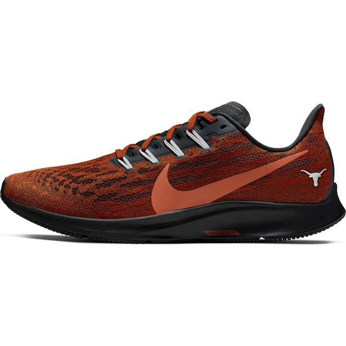 Men's Nike Texas Orange Texas Longhorns Air Zoom Pegasus 36 Sneakers