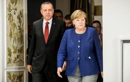 German Chancellor Angela Merkel vows to block Turkey from joining European Union