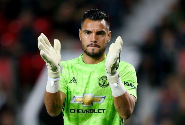 Sergio Romero was left out of Manchester United's Premier League and Champions League squads