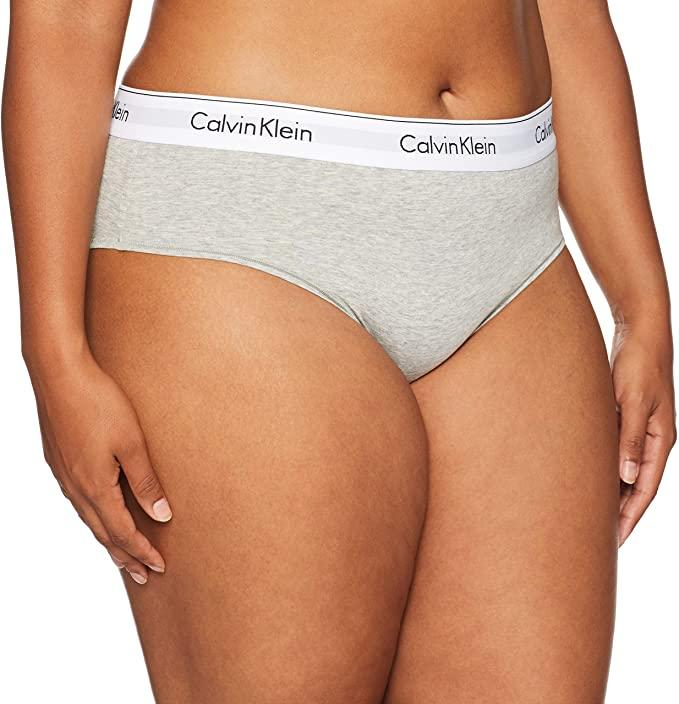 Calvin Klein Womens Modern Cotton Bikini. Image via Amazon.