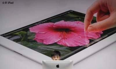 China's Low-Key Welcome For Apple's New iPad