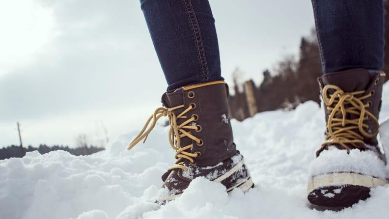 Sometimes you just have to break out your heavy-duty snow boots.